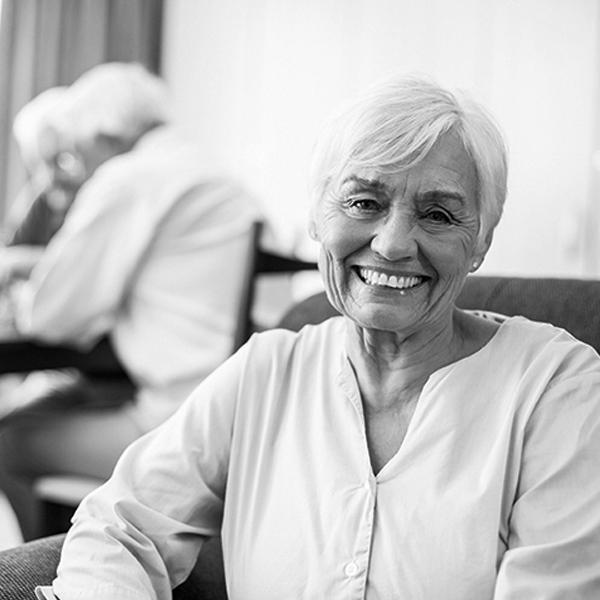 Titanium Healthcare image of an older woman