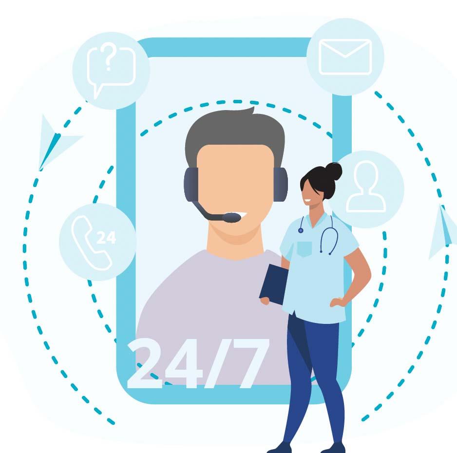 Titanium image of a phone to call Titanium Healthcare